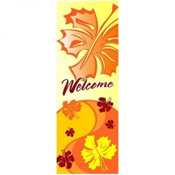 10D988-C fall winter holiday banner