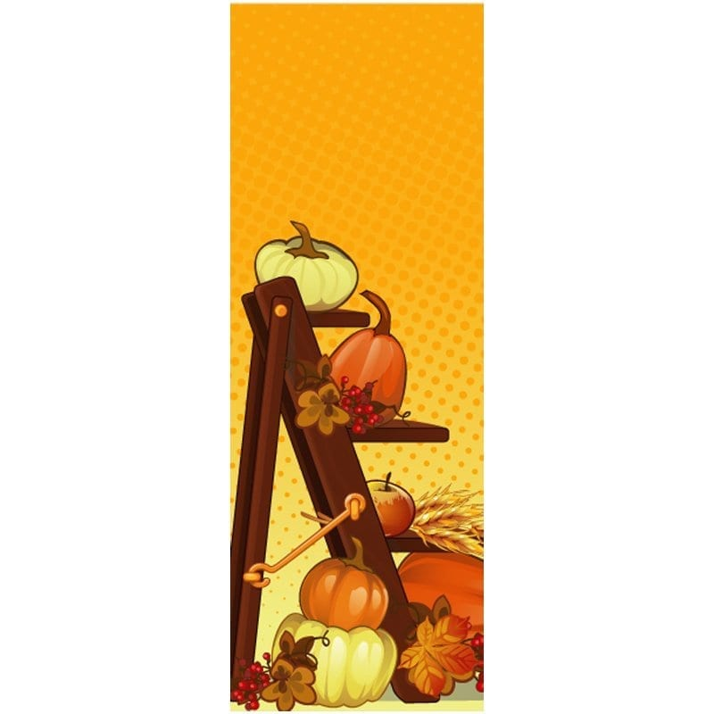 16D831 fall winter holiday banner