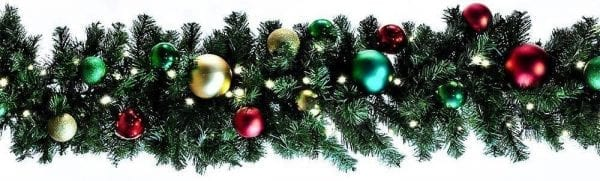 Colors of the holiday Garland
