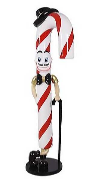 6.5ft Candy Cane Joe Photo Op