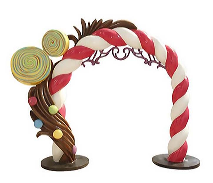 9.5ft Candy Arch Photo Op