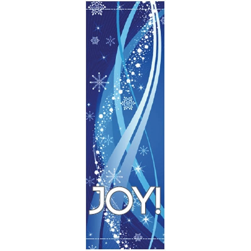Joy Streamers 20917 winter holiday banner