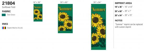 21804 Sunflower Field recipe