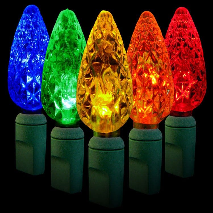 Multi Colored C6 Mini LED Lights