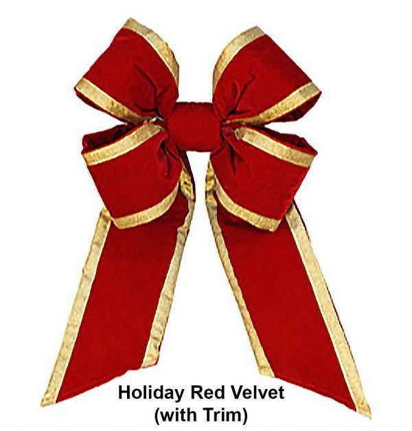 Holiday Red Velvet with Trim