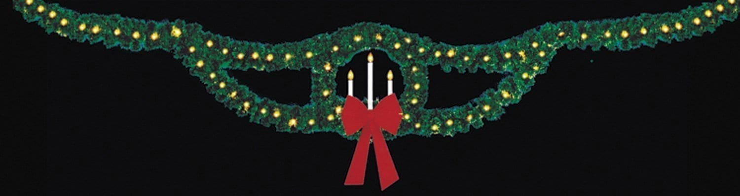 Candle Wreath Skyline OH-518