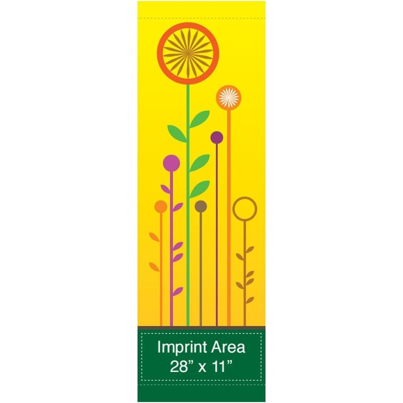 Flower Field 16935 spring summer banner