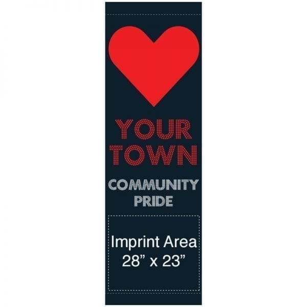 Love Your Town 16933 municipal banner