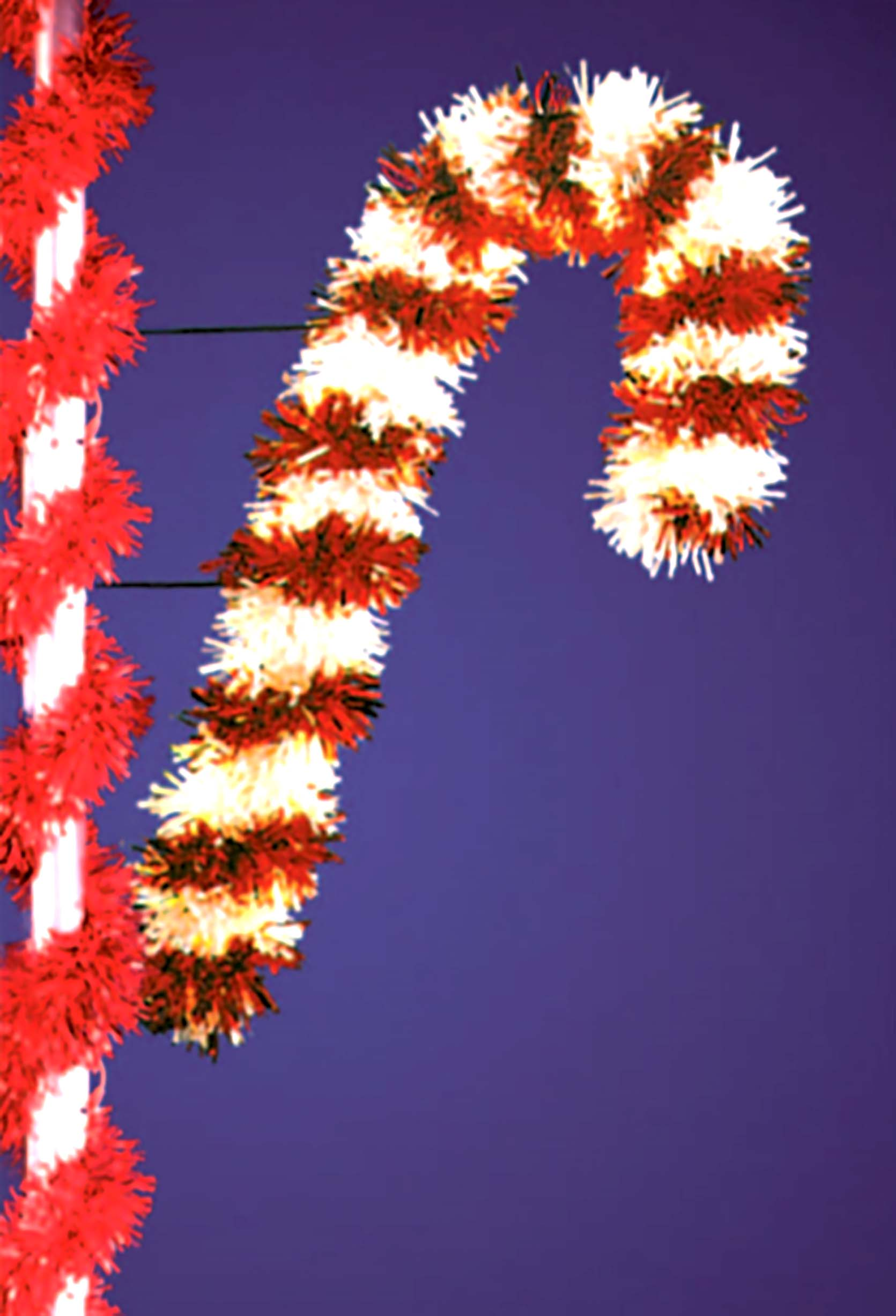 P-181 Double Frame Candy Cane