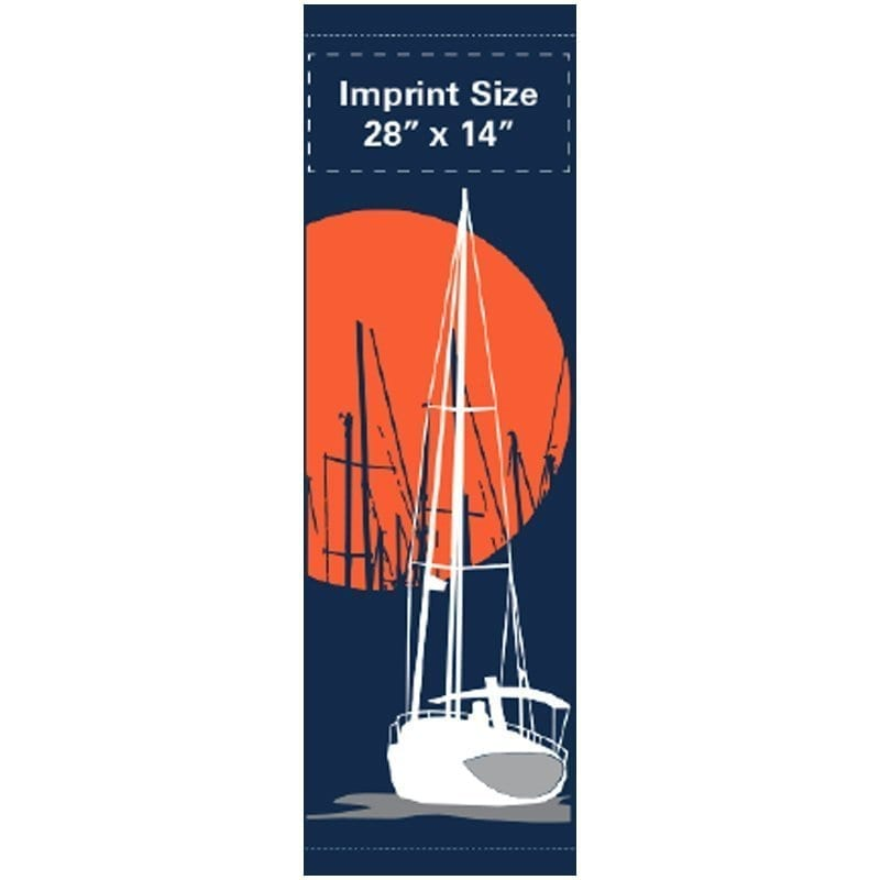 Sailing Harbor 14201 spring summer banner