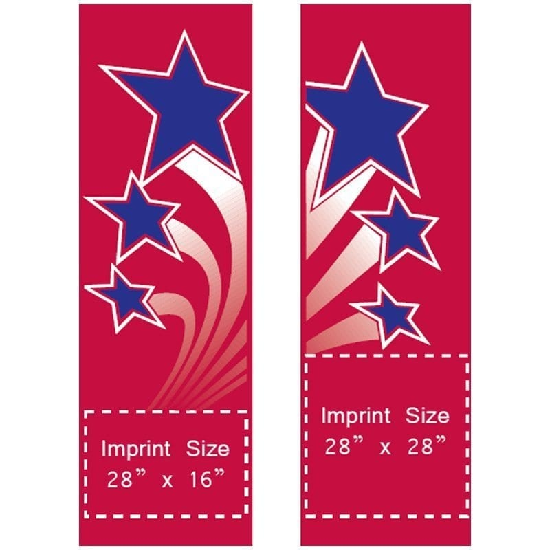 Shooting Stars Set 04209 patriotic banners