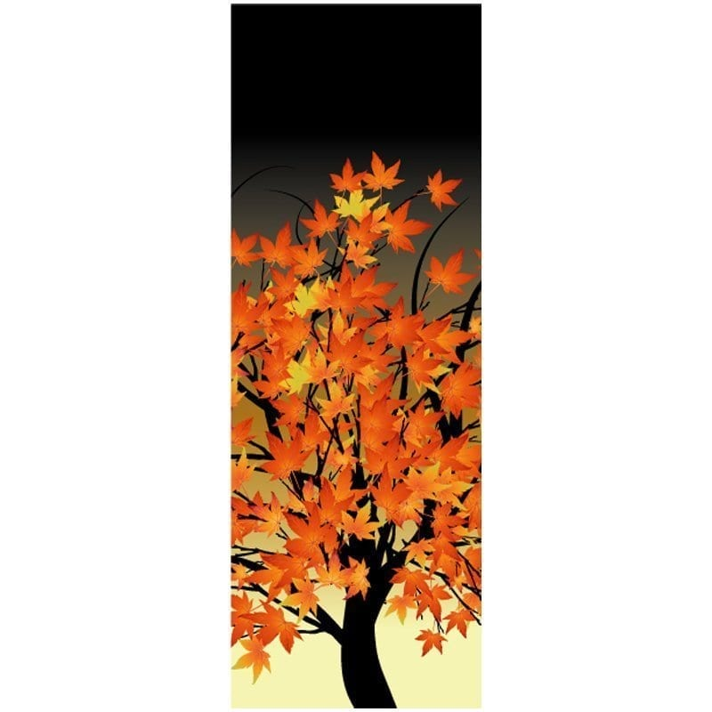 Sunset Autumn Tree 10D983 fall winter holiday banner
