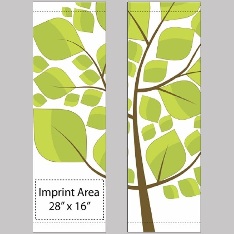 Tree Stencil set 17931 spring summer banner
