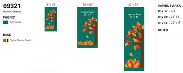09321 Autumn Leaves recipe
