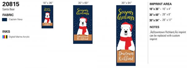 20815 Santa Bear recipe