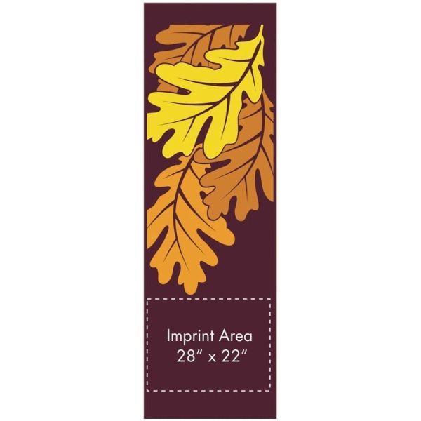 Autumn Oak 20383 fall winter holiday banner